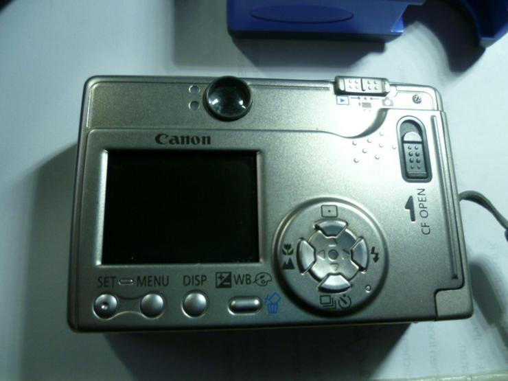 Bild 3: Digitalkamera Camera Canon Ixus PC1022 2 MP mit 256 MB NR.134