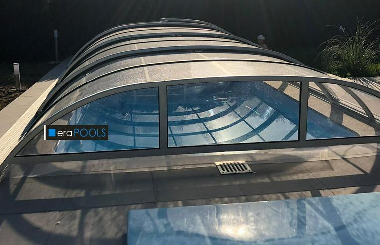 Pool Ueberdachung Smart 880 Vorm. + schnelle Lieferung