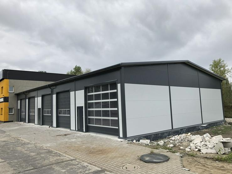 Bild 3: Stahlhalle Werkstatthalle Lager Logistikhalle Gewerbehalle 26m x 15m