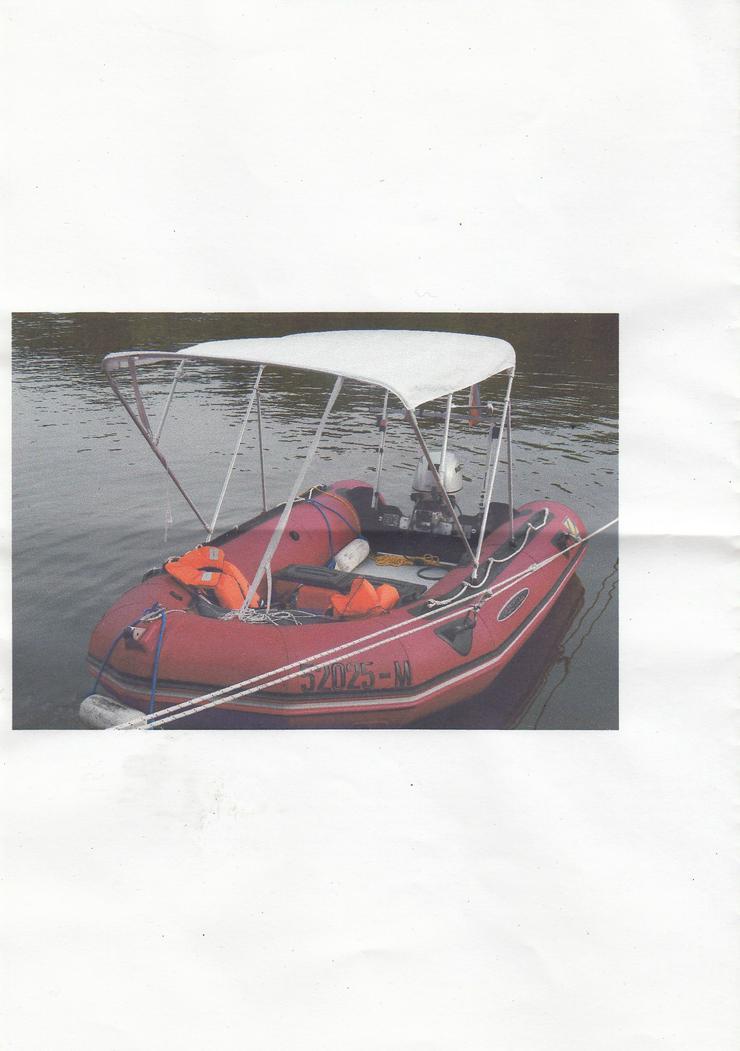 Schlauchboot incl. 20 PS-Motor