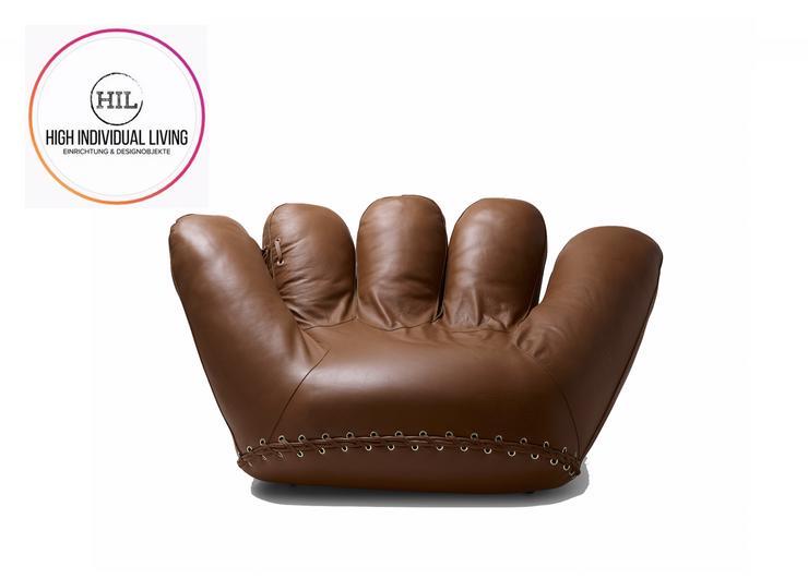 ★ Poltronova   Joe   Baseball Handschuh Sessel Ausstellungsstück