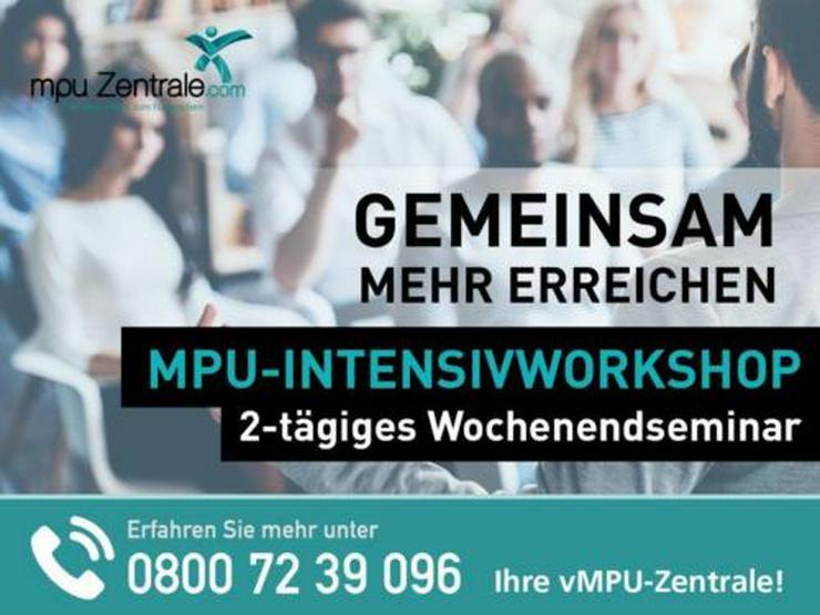 MPU WOCHENENDSEMINAR/ 2-TÄGIGER INTENSIV WORKSHOP