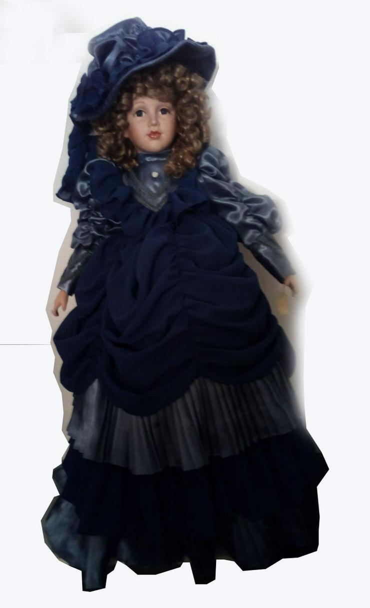 Original-SAMMLER-KIM-Puppe-BELLA-Porzelan-Puppe-der-besonderen-Klasse-80cm