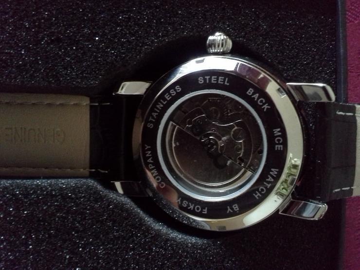 Bild 4: Uhren Herren Automatikarmbanduhr MCE