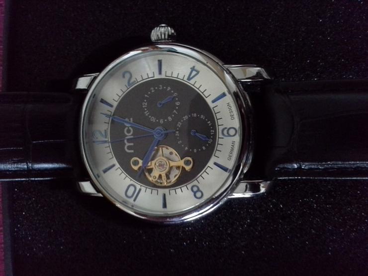 Herren Automatikarmbanduhr MCE - Herren Armbanduhren - Bild 1