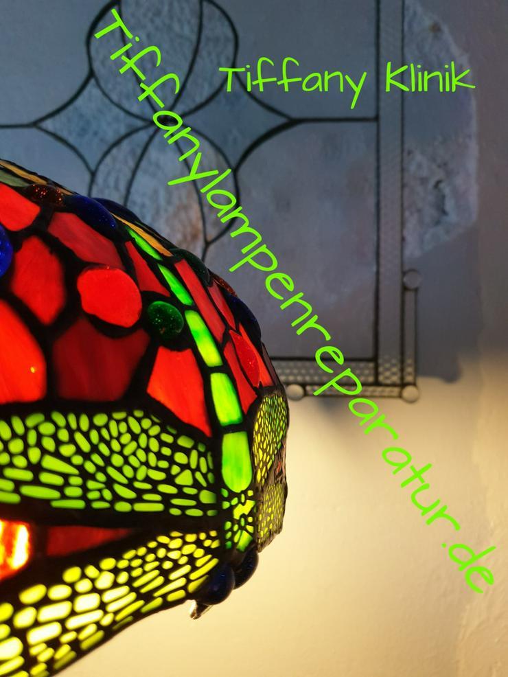 Bild 4: die GLASKUNST WERKSTATT seit 1984 repariert Tiffany Lampen Nrw & die GLASKUNST WERKSTATT seit 1984 & Tiffany Klinik Mülheim & Deko Bleiverglasung Galerie