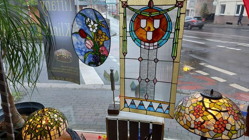 Bild 6: die GLASKUNST WERKSTATT seit 1984 repariert Tiffany Lampen Nrw & die GLASKUNST WERKSTATT seit 1984 & Tiffany Klinik Mülheim & Deko Bleiverglasung Galerie