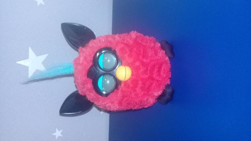 """Hasbro A4062100 - Furby Edition Hot Wild """"rot-schwarz"""" - deutsch - Teddybären & Kuscheltiere - Bild 1"""