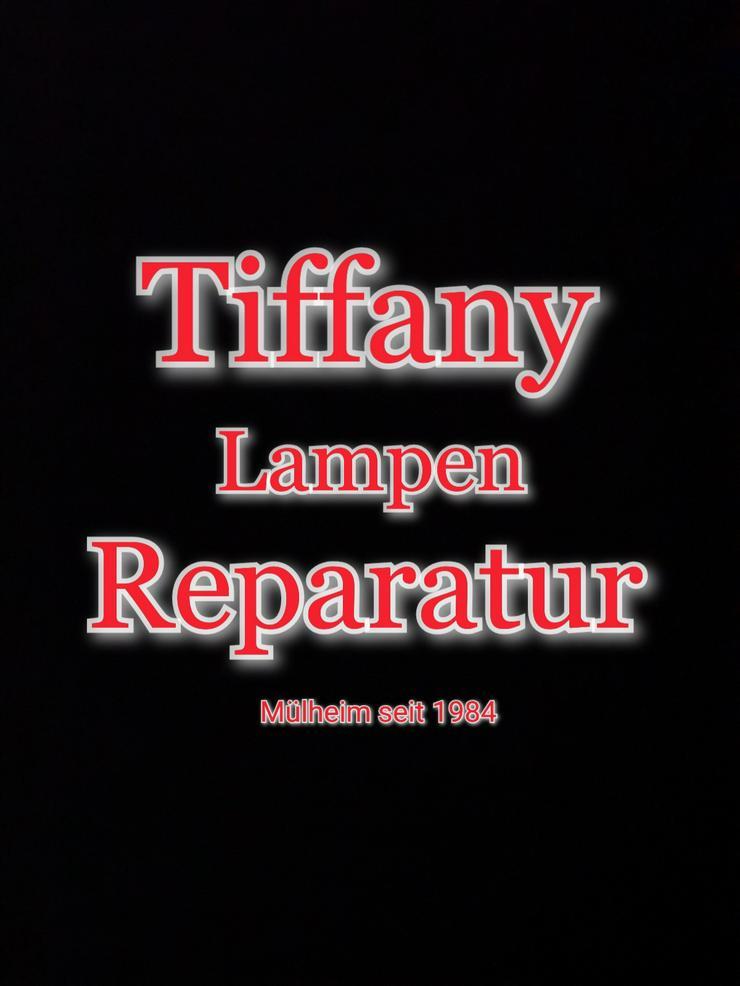 die GLASKUNST WERKSTATT seit 1984 repariert Tiffany Lampen & Tiffany Art & Fensterbilder & Bleiverglasung