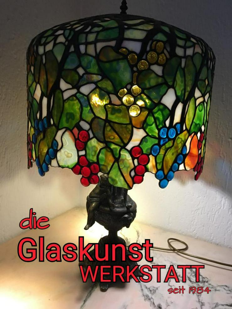 Bild 3: die GLASKUNST WERKSTATT seit 1984 repariert Tiffany Lampen & Tiffany Art & Fensterbilder & Bleiverglasung