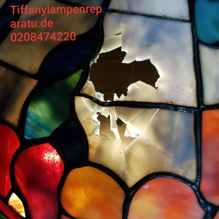 Bild 6: die GLASKUNST WERKSTATT seit 1984 repariert Tiffany Lampen & Tiffany Art & Fensterbilder & Bleiverglasung