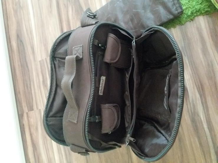 Bild 4: Neuwertige Wickeltasche