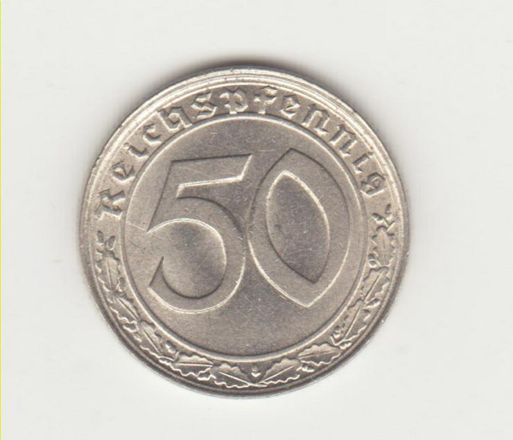 50 Reichspfennig 1939 D Nickel