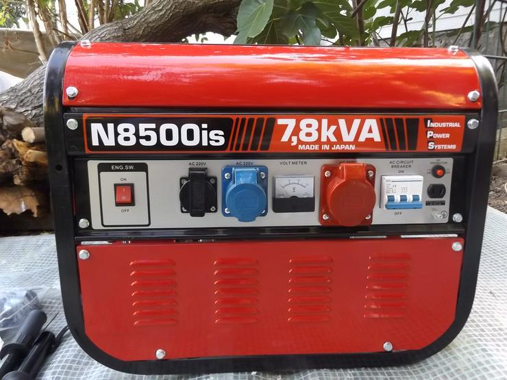 Notstromaggregat N 8500 IS - Werkstatteinrichtung - Bild 1