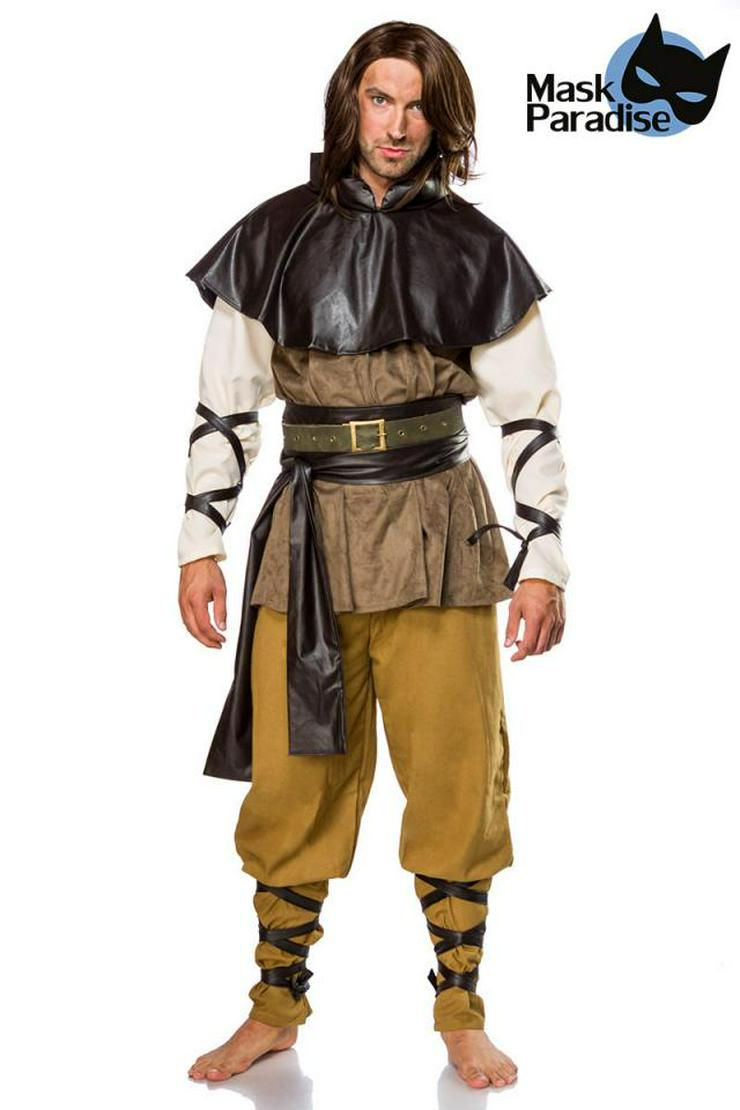 Mittelalterkostüm: Medieval Man Fabelwesen Karnevalskostüm Kostümset
