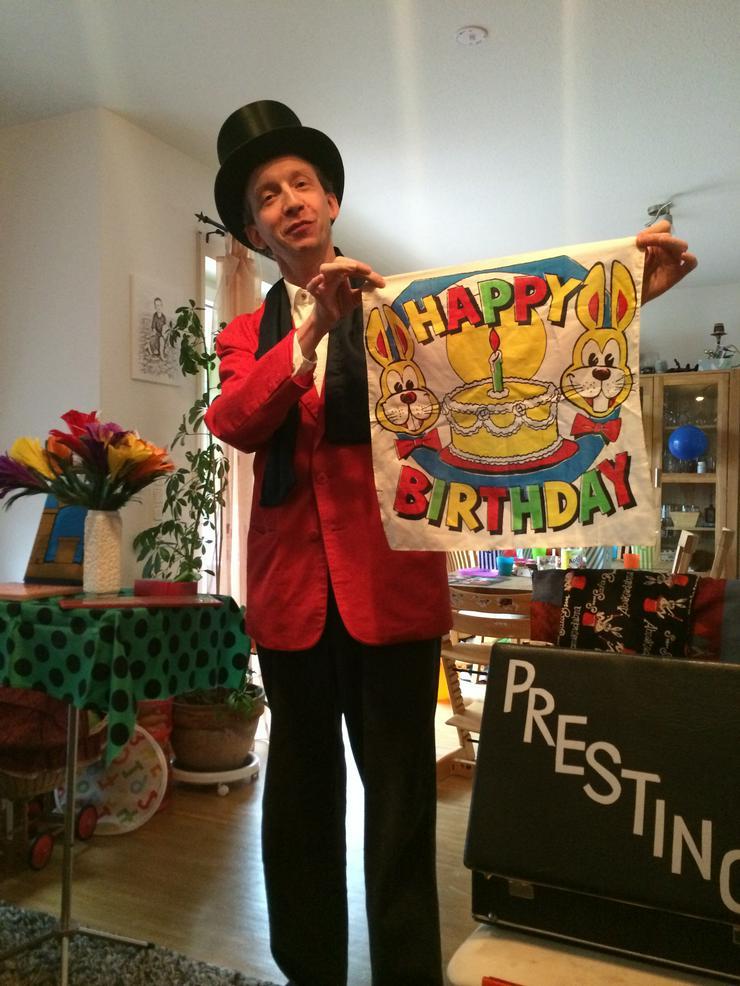 Zauberer für Kindergeburtstage, Familiebfeiern und Veranstaltungen Bundesweit