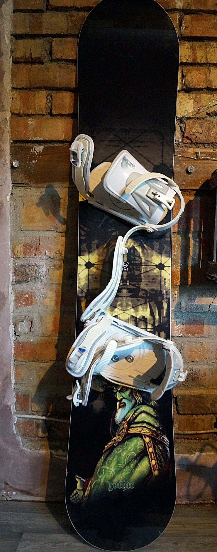 Snowboard mit Bindung und Tasche - Snowboards - Bild 1