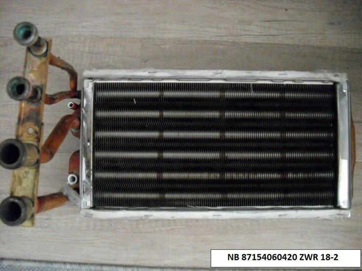 Junkers Wärmetauscher Wärmeblock Art-Nr.87154060420 ZWR 18-2 wie NEU Regeneriert