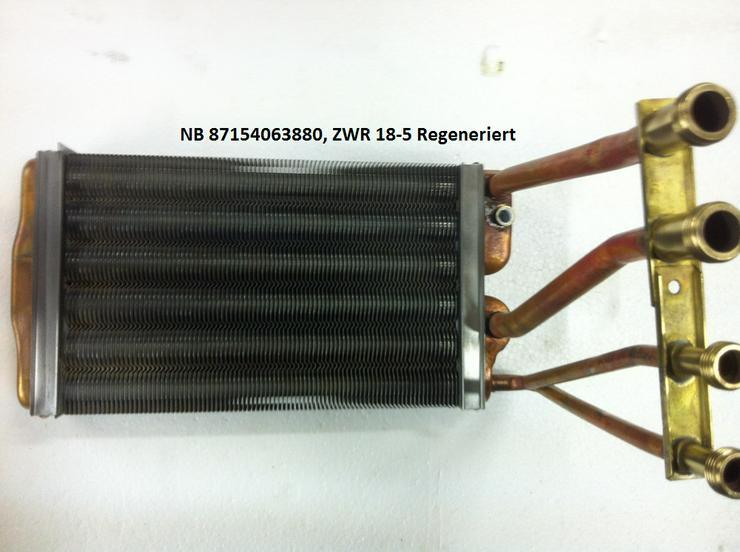 Junkers Wärmetauscher, Wärmeblock, Art-Nr. 87154063880 ZWR 18-5, Regeneriert