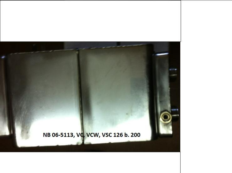 Bild 4: Vaillant Wärmetauscher HW 06-5113, VC 126 + 196 E-C./2-C; VCW 196 E-C /2-C; VSC Regeneriert