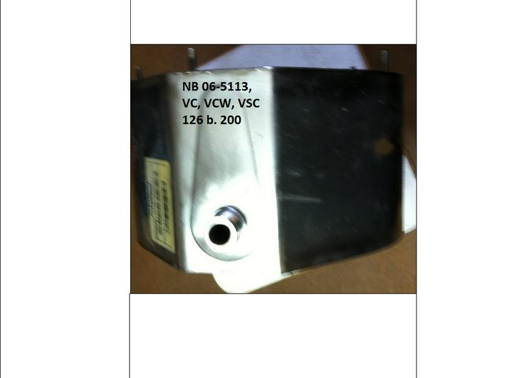 Bild 2: Vaillant Wärmetauscher HW 06-5113, VC 126 + 196 E-C./2-C; VCW 196 E-C /2-C; VSC Regeneriert