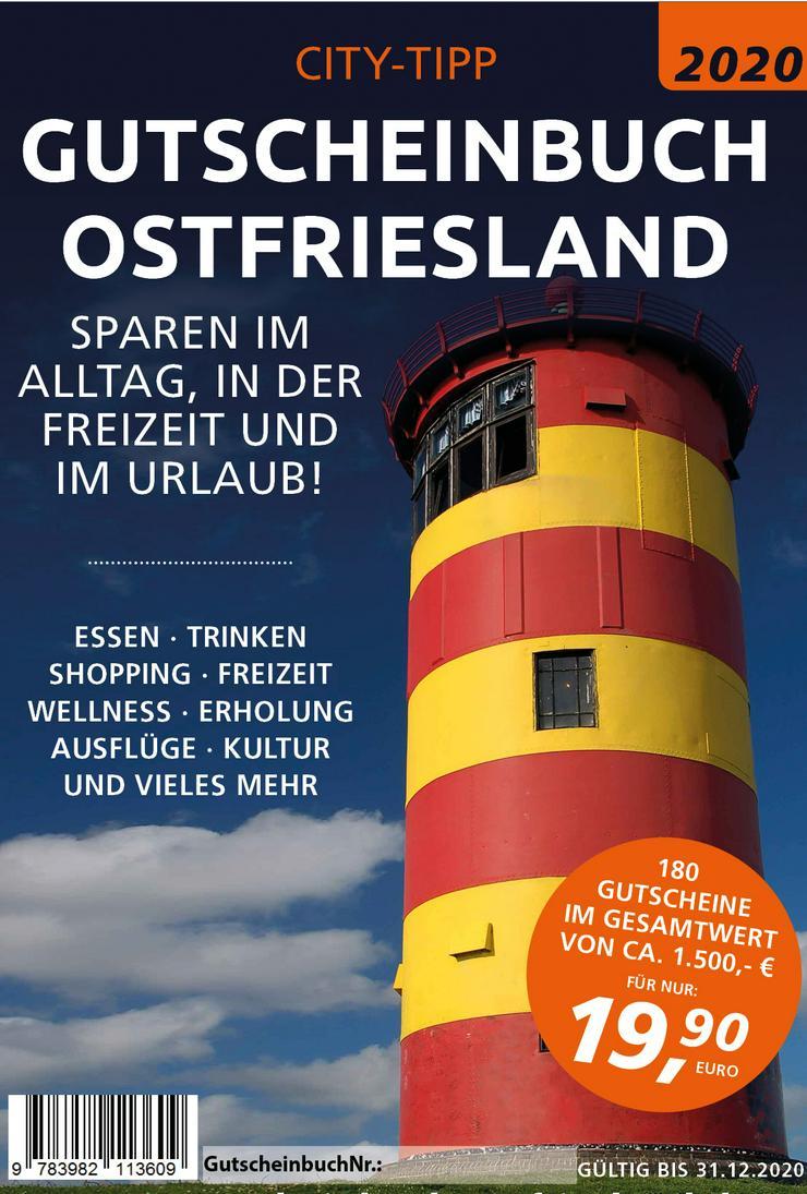 Sparen beim Essen und Trinken mit dem Gutscheinbuch 2020 Ostfriesland