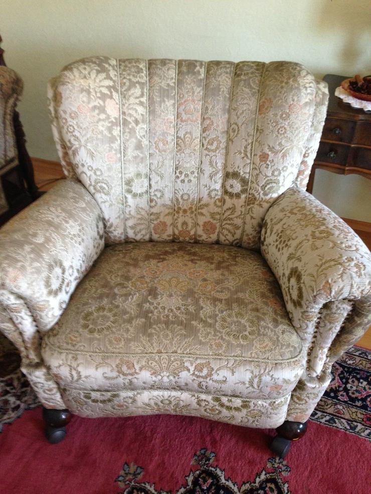 2 schöne, stabile Sessel, altdeutsche Art - Sofas & Sitzmöbel - Bild 1