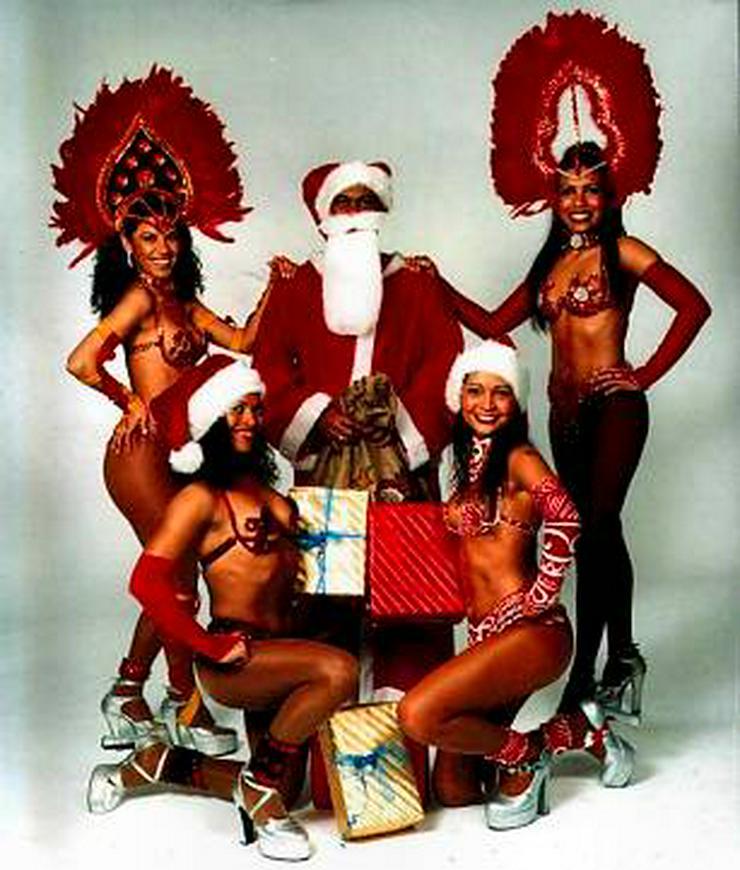 Brasilianische Tänzer für Ihre Weihnachtsfeier