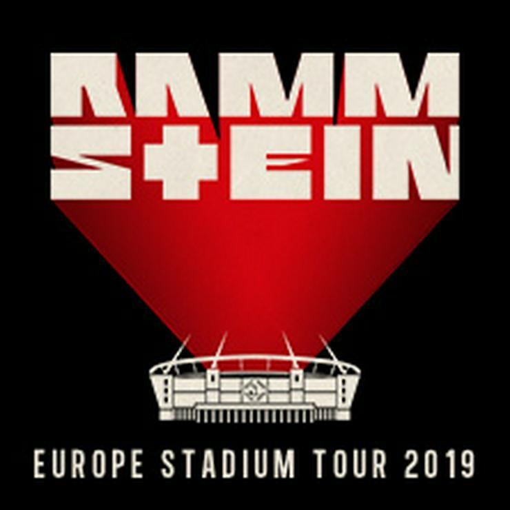 2 Tickets Rammstein Prag 17.7.2019 im Tausch gegen Dresden, München oder Berlin - Sonstiges - Bild 1