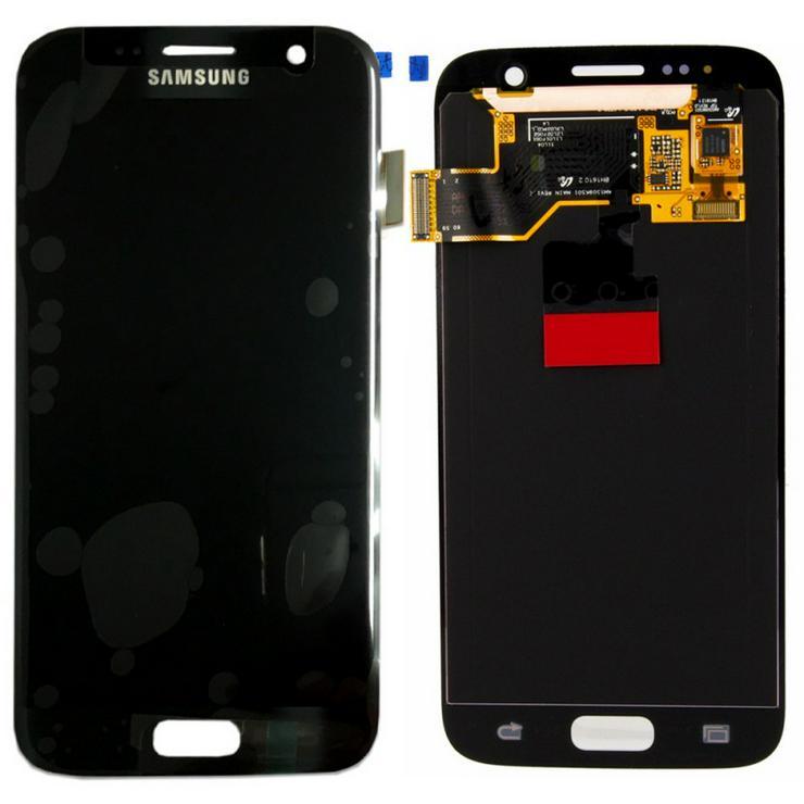 100% Original Samsung S7 G930F LCD Display Service Pack - Zubehör - Bild 1