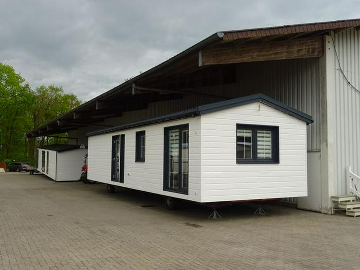 Sehr Mobilheim Eigenbau zu verkaufen Winterfest Wohnwagen in Nordhorn LJ25