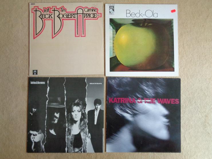25 LPs Pop & Rock - Zustand fast wie neu / gut / mittel