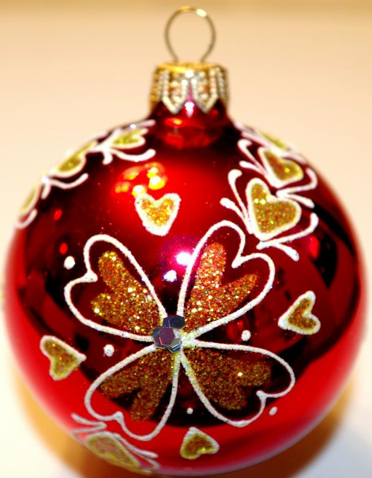 Wunderschöne Weihnachtskugeln aus Glas zu einem einmaligen Preis!