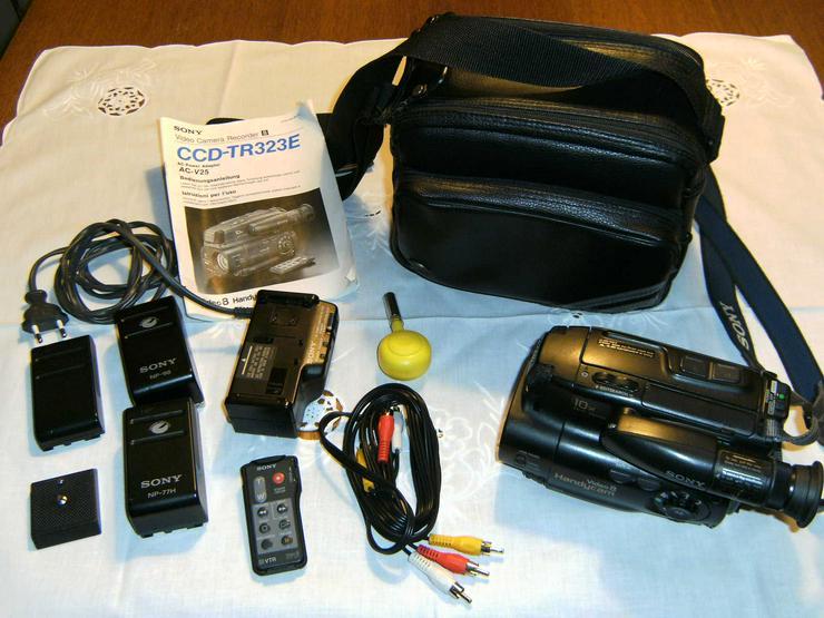 Sony Camcorder 8 CCD-TR323E