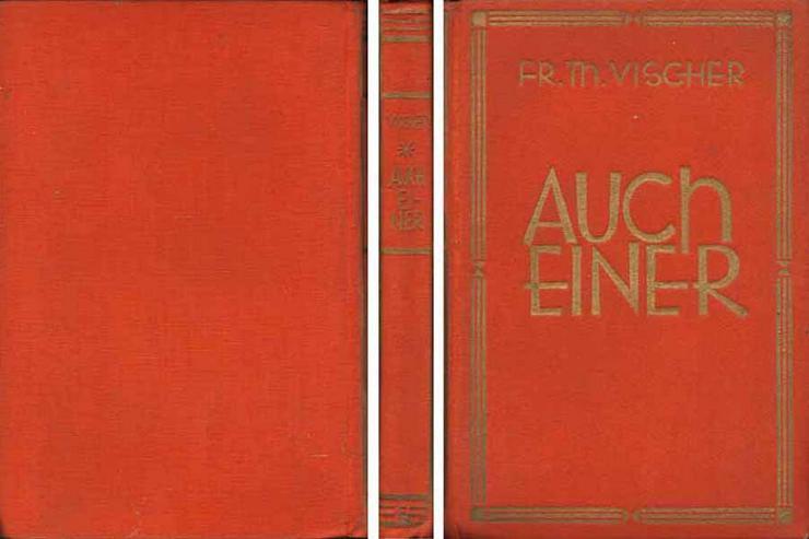 Buch von Friedrich Theodor Vischer - Auch Einer - eine Reisebekanntschaft