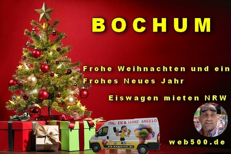 🔴 Bochum 🔴 Eiswagen mieten wünscht 🎄 Frohe Weihnachten Advent Weihnachtszeit schöne 🍸 Silvester 🍸 und ein gutes Neues Jahr 🍸