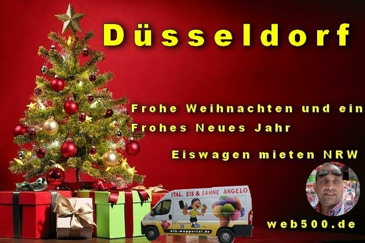 🔴 Düsseldorf 🔴 Eiswagen mieten wünscht 🎄 Frohe Weihnachten Advent Weihnachtszeit schöne 🍸 Silvester 🍸 und ein gutes Neues Jahr 🍸