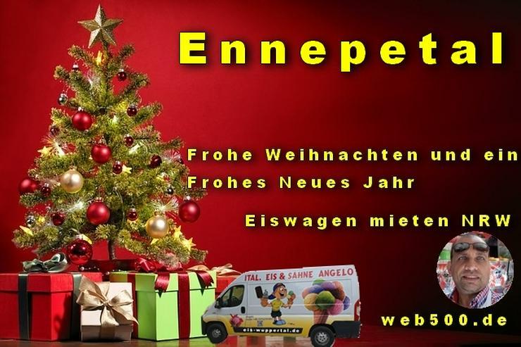 🔴 Ennepetal 🔴 Eiswagen mieten wünscht 🎄 Frohe Weihnachten Advent Weihnachtszeit schöne 🍸 Silvester 🍸 und ein gutes Neues Jahr 🍸  - Party, Events & Messen - Bild 1