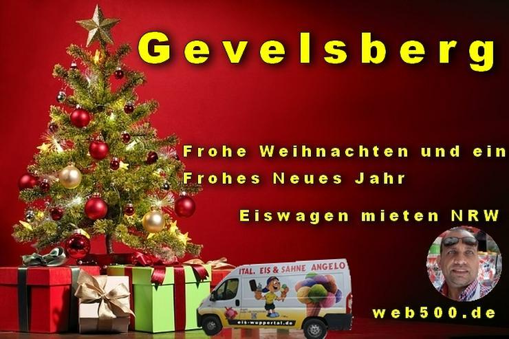 🔴 Gevelsberg 🔴 Eiswagen mieten wünscht 🎄 Frohe Weihnachten Advent Weihnachtszeit schöne 🍸 Silvester 🍸 und ein gutes Neues Jahr 🍸