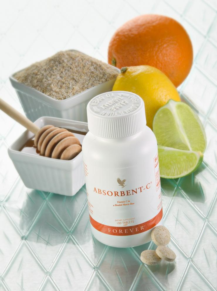 Forever Absorbent-C hier zum Aktionspreis 16,10 € - bioverfügbares Vitamin C präparat