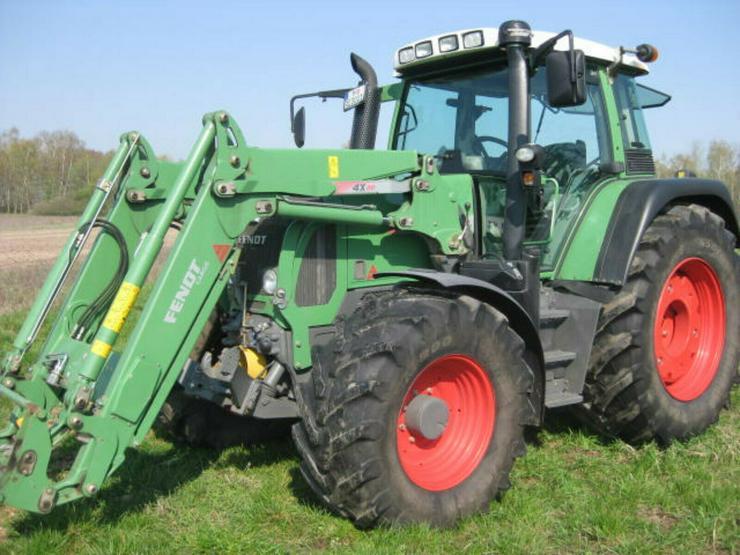 Fendt 414 Vario TMS Traktor