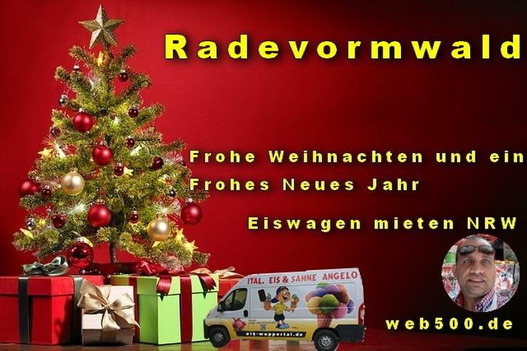 🔴 Radevormwald 🔴 Eiswagen mieten wünscht 🎄 Frohe Weihnachten Advent Weihnachtszeit schöne 🍸 Silvester 🍸 und ein gutes Neues Jahr 🍸