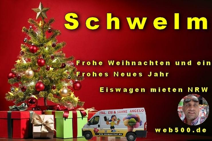 🔴 Schwelm 🔴 Eiswagen mieten wünscht 🎄 Frohe Weihnachten Advent Weihnachtszeit schöne 🍸 Silvester 🍸 und ein gutes Neues Jahr 🍸