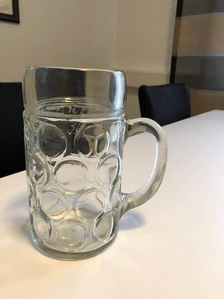 Masskrüge Glas 1 Ltr. Topzustand