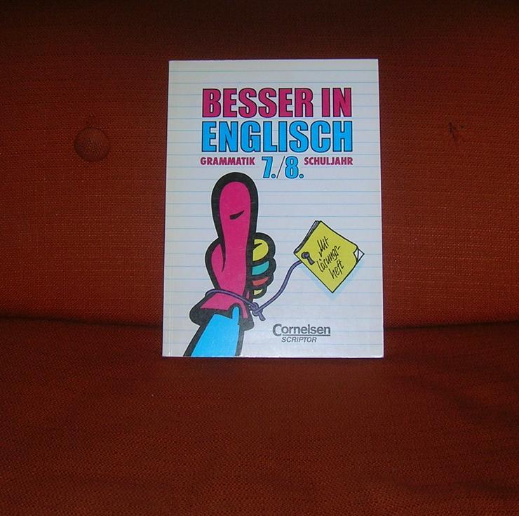 Schulbuch, Besser in Englisch 7. / 8. Klasse Cornelsen