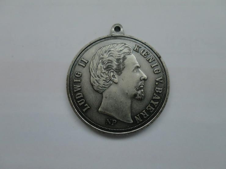 Bild 2: Münze Medaille König Ludwig II