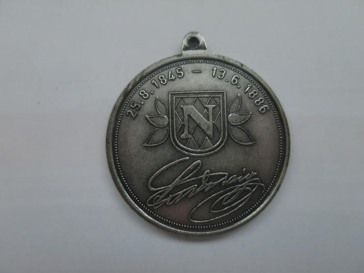 Münze Medaille König Ludwig II