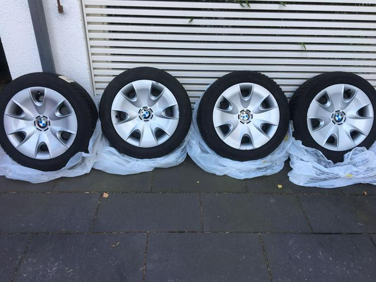 BMW Winterreifen Runflat Stahlfelge 195/55R16 87H BMW 1er Neuwertig