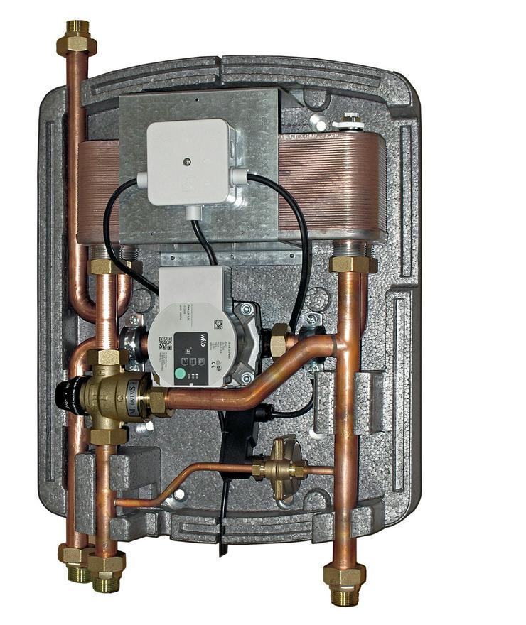 1A Frischwasserstation Friwa F1 – 40 für Speicher, Tank, Boiler
