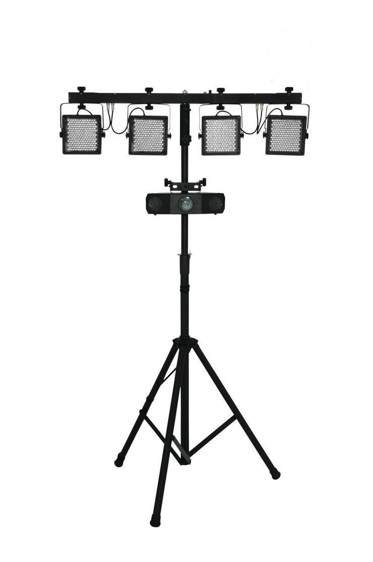 Bild 3: Verleih Eurolite KLS-Kombo Pack 10 LED - Lichtanlage I Partylicht